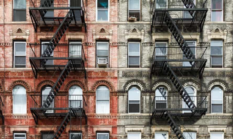 City living … apartment buildings in New York.