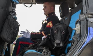 Lance Cpl Jeff DeYoung and Cena took the ride together.