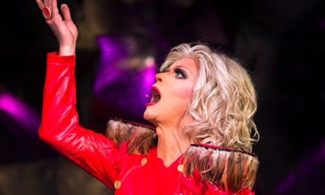 Riot review – Dublin drag star leads disparate mix of poetry and politics
