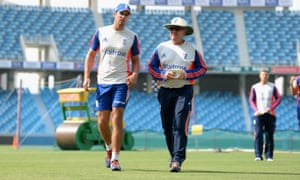 England's Alastair Cook and Trevor Bayliss have been working together for only four months.
