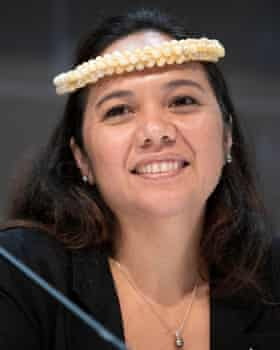 Tina Stege, the climate envoy of the Republic of the Marshall Islands.