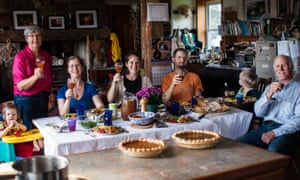 The McQuail family. McQuail is a Quaker who made Canada his home.