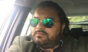 Uber driver, Khurram Shahzad.