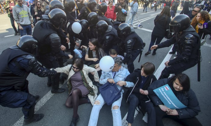 Clashes as May Day protesters march in cities across Europe ...