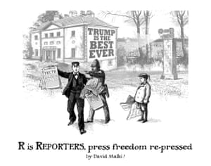 R is Reporters, press freedom re-pressed