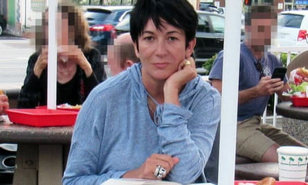 Ghislaine Maxwell was seen at In-N-Out burger in Los Angeles.