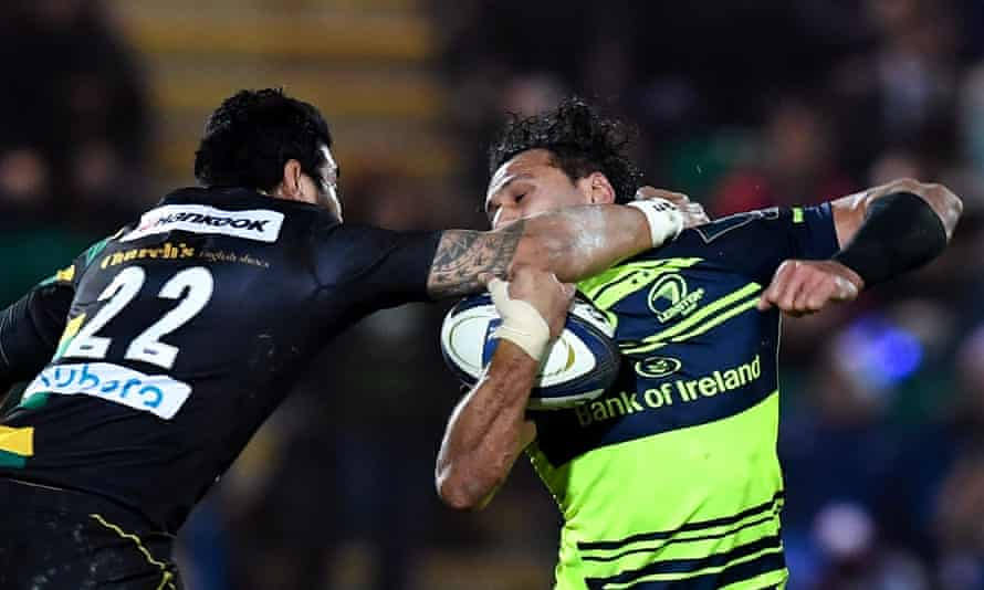 High tackles, such as this one by Northampton's George Pisi on Isa Nacewa, will now be more harshly sanctioned.
