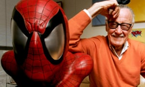 Stan Lee in his Beverly Hills office in 2008.