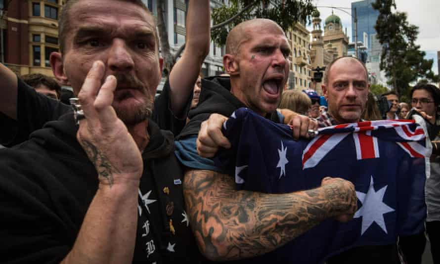 Reclaim Australia rally in Melbourne