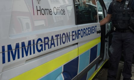 Woman was subsequently arrested at the centre and taken to a police station where she was questioned over her immigration status.