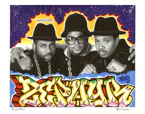 Graffiti homages to hip-hop heroes – in pictures | Art and