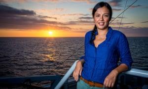 Liz Bonnin presents Galapagos.