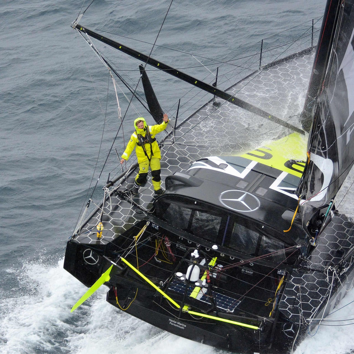What Books Would You Take On The Vendee Globe Solo Voyage Round The World Books The Guardian