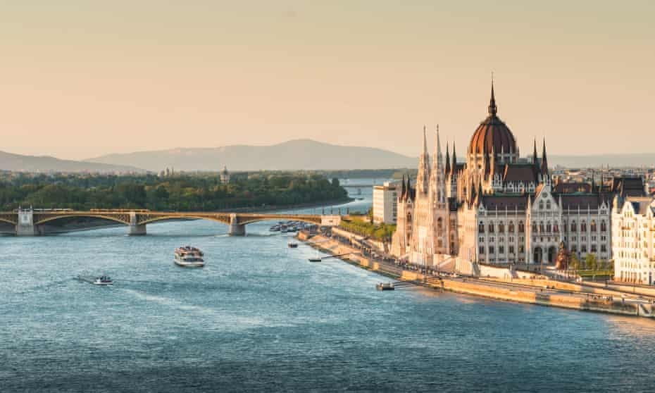 Budapest and the Danube, Hungary.