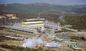 The Olkaria IV power plant.