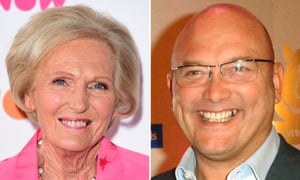 Mary Berry and fellow BBC star Gregg Wallace, who has come to the defence of the deep-fat fryer.