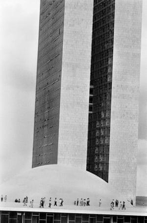 The National Congress building by Oscar NIEMEYER.
