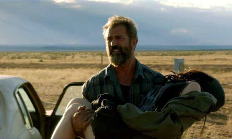 Daddy duties ... Mel Gibson in Blood Father