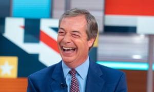 Nigel Farage lauching