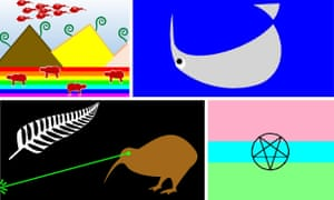 New Zealands New Flag Quirky Contenders World News The - New zealand flags