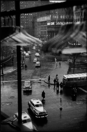 Union Square from Ohrbach's Window, New York.
