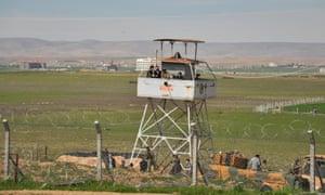 Turkish border with Syria