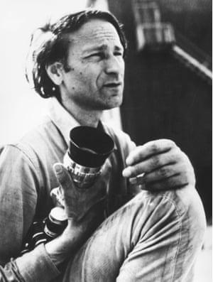 'Shoot all scriptwriters' … Mekas in 1970.