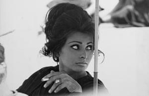 Sophia Loren, 1963 by Terence Donovan