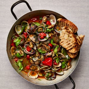 Yotam Ottolenghi's sautéed clams with tomatoes and scotch bonnet