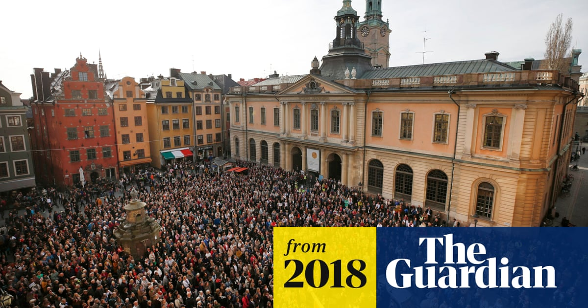 https://www.theguardian.com/books/2018/may/04/nobel-prize-for-literature-2018-cancelled-after-sexual-assault-scandal