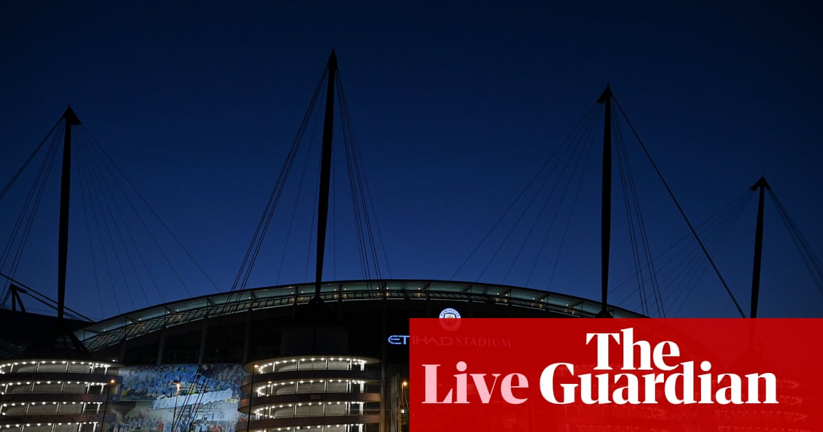 Manchester City v Southampton: Premier League – live!
