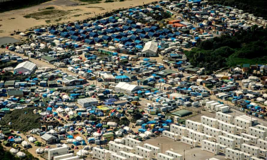 The Calais refugee camp