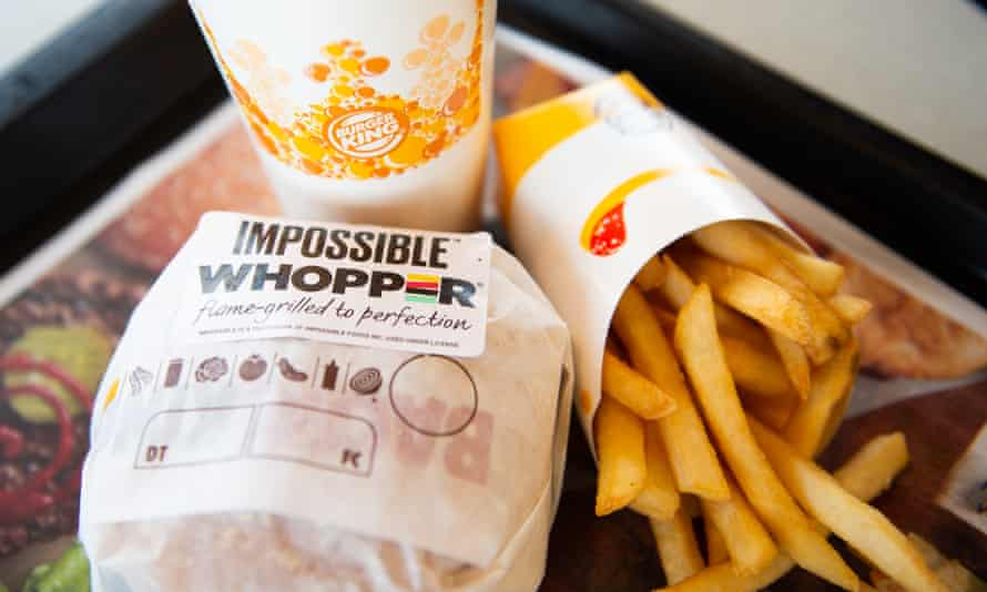 The 'Impossible Whopper' is being sold at 59 Burger King joints in St Louis.