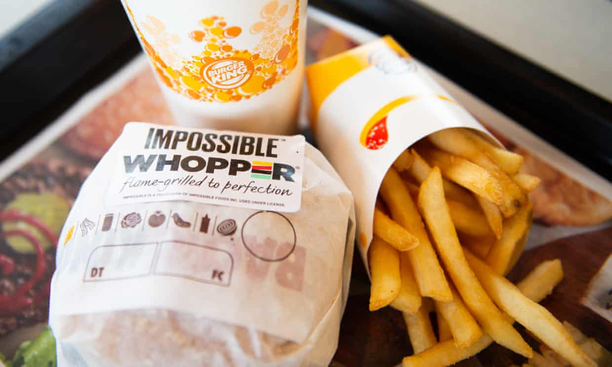 'Fast food chains have begun to enthusiastically embrace plant-based meat substitutes, propelling these foods further into the mainstream.'