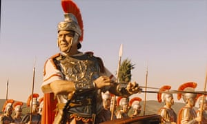 George Clooney driving a chariot in Hail, Caesar!