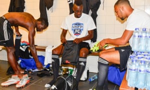 The Team UNFP dressing room is a nervous place as the French players hope a piece of brilliance will alert the world to their skills.