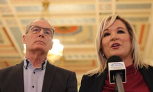 Michelle O'Neill and Gerry Kelly.