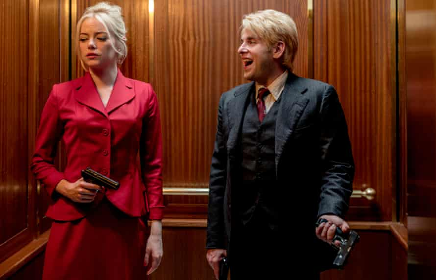 Human guinea pigs … Emma Stone and Jonah Hill in Maniac.