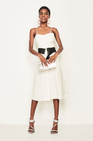 Five ways to wear... a white dress – in pictures