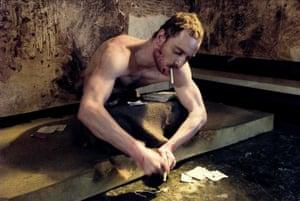 Michael Fassbender in McQueen's 2008 film Hunger