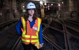 Kristina Ippolito is a project engineer at Judlau Contracting in New York City, the only female engineer on a rebuilding project after Hurricane Sandy. 'It's a challenge to be the only woman in a male-dominated field. It takes a lot longer for men to take you seriously. You have to prove that you know something. People will ask things like, 'Whose daughter are you?' or 'Are you an intern?' That make you feel almost unqualified. That's the main frustration.'