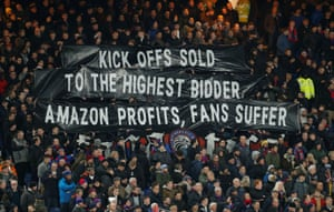 A warm welcome down at Selhurst on Tuesday.