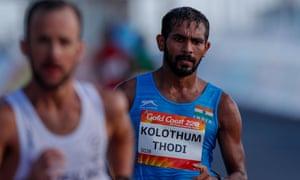 Race walker Irfan Kolothum Thodi