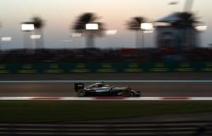 Hamilton leads the way.