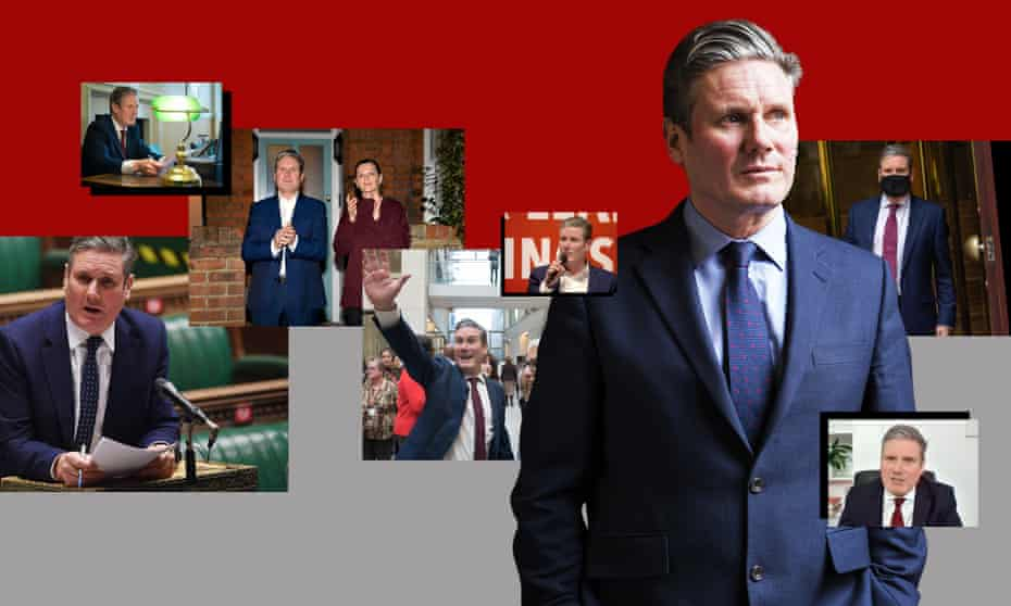 A year of Keir Starmer composite