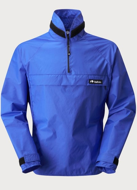 Buffalo Systems' windshirts are great at getting rid of internal moisture