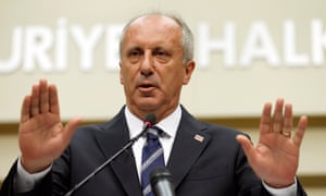 Muharrem İnce ran a dynamic campaign but failed to force a second-round runoff with Erdoğan.