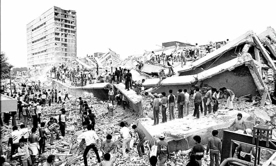 1985's devastating earthquake sparked a push to decentralise Mexico's government. The National Statistics and Geography Institute was the only agency to relocate.