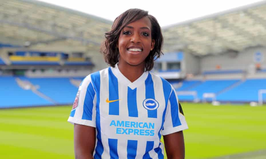 Danielle Carter, the Brighton forward, wants a boardroom role after her playing career.