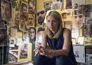 Claire Danes as Carrie Mathison in Homeland